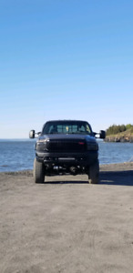 Lifted Ford f350