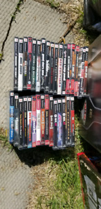 Playstation 2 with a bunch of games