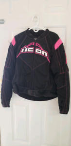 LADIES XL ICON MOTORCYCLE JACKET FOR SALE