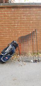 Full Set of Mens Golf Clubs - RAM FX (LH)
