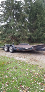 Car and equipment trailer