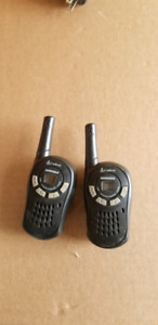 Short range 2 way radios.