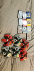 N64 games and controller