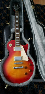 Epiphone les paul and marshall amp