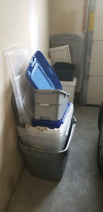 Storage Totes and bins