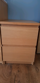 IKEA chest of 2 drawers