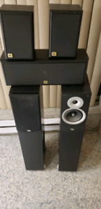 JBL and Reference Audio 5.1 Speaker System