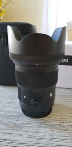 Sigma 50mm F1.4 Art Lens Canon Mount