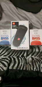 Sony and JBL Bluetooth speakers for sale brand new
