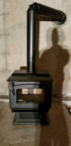 Brand new woodstove with blower