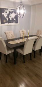 Almost New Dining Table and Chairs