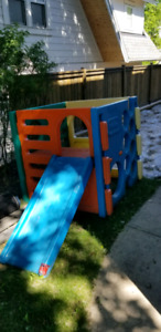 Kids Play Structure with Slide