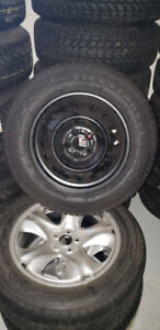 "BRAND NEW  195/65/R15 ""Firestone Winterforce"" Tires & Steel rims"
