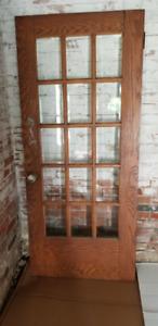 Antique Oak Doors