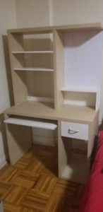 ikea Computer table and book shelf for $40