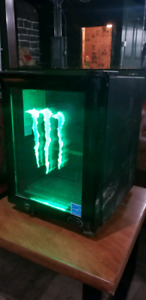 Monster Energy mini fridge/cooler