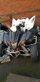 2009 Apache 450 RLX quad bike breaking spares only 400 320 quadzilla for sale  High Wycombe, Buckinghamshire