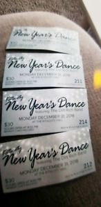 New years tickets dance
