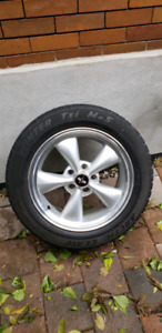 Ford Mustang Artic Claw Winter Tires and Wheels 225/55/R17 OBO