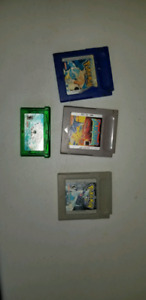 Gameboy Advanced + 4 games