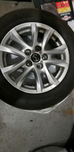 2017 Mazda 3 Alloy Rims with Tires