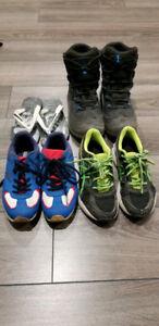 Set de chaussures / bottes garçon (gr 2-3)
