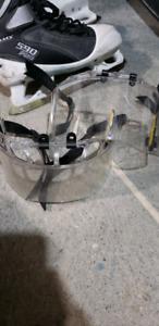Bauer visors