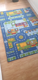 Boys bedroom rug