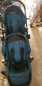 Poussette Baby Jogger City Select avec 2 sieges