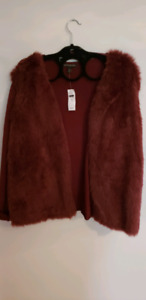 Banana republic sweater fur