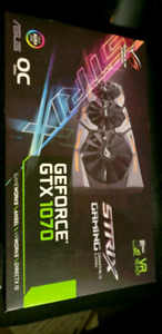 ASUS GeForce GTX 1070 8GB ROG Strix OC Edition Graphic Card
