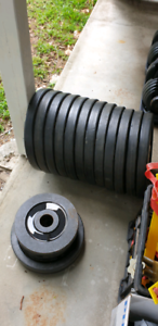 Rubber Coated Olympic Weight Plates