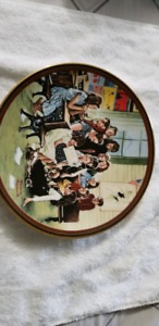 NORMAN ROCKWELL PLATES COLLECTORS ITEM 22