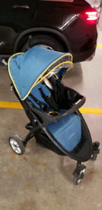 Baby Stroller, car seat with base and rear facing mirror