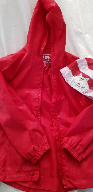 59efc50dcdff Red Raincoat for Girls