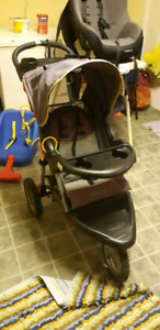 Stroller carseat swing and high chair