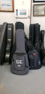Various Styles and Sizes of Gig Bags