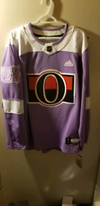 Ottawa Senators Hockey Fights Cancer Authentic Jersey