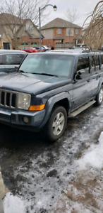 2007 Jeep Commader 4x4 as is