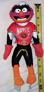 Plush Skating Hockey Monster from Muppets  $4.00  .  From a smok