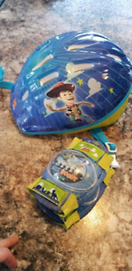Disney's Toy Story helmet and knee pads