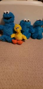 Sesame Street stuffies