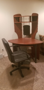 Computer Desk and Chair