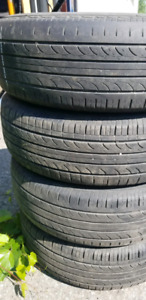 4pneus  été 195/65R15 hankook optimo