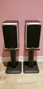 For sale - Reference Audio R5B bookshelf speakers and stands