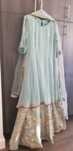 Powder blue color dress Brandnew(exhibtion piece)