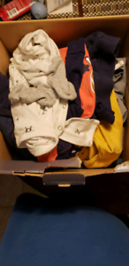 Box of 9 month boy clothes $15