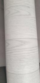 New light grey vinyl lino off cut 130cmx370cm
