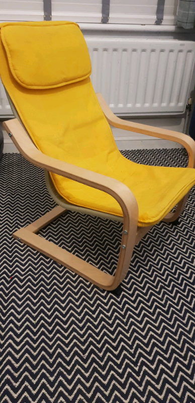Pleasant Kids Ikea Poang Chair In Bournemouth Dorset Gumtree Andrewgaddart Wooden Chair Designs For Living Room Andrewgaddartcom