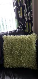 Beautiful NEXT Green Cushions x 4....As New!